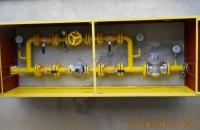 Agrár munkáink... Egyedi gáznoymás szabályzó szekrény, 0,3bar-0,7bar