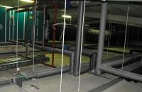 Agrár munkáink... Keltető épület légkezelő bekötés