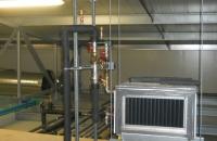 Agrár munkáink... Légfűtő kalorifer keltető