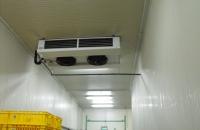 Ipari beruházásaink... Direkt elpráológtatós hűtő beltéri egysége hűtőház