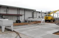 Ipari beruházásaink... Direktelpárológtatós hűtők kondenzátorai, kompresszorai, hűtőház