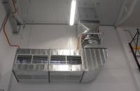 Ipari beruházásaink... Ipari csarnok fűstelszívó ventilátor
